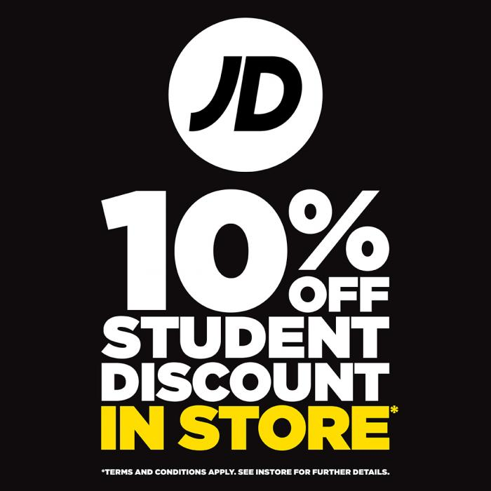 jd sports student discount