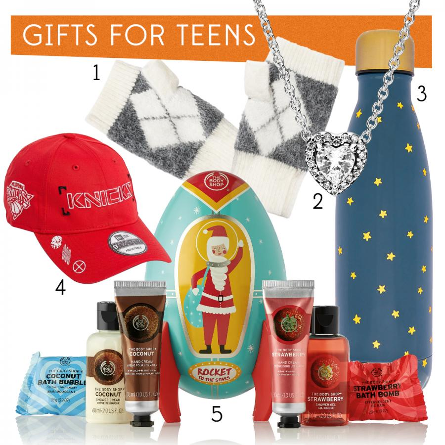 Christmas gifts for teenagers
