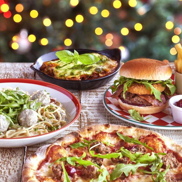 Frankie & Benny's Christmas menu