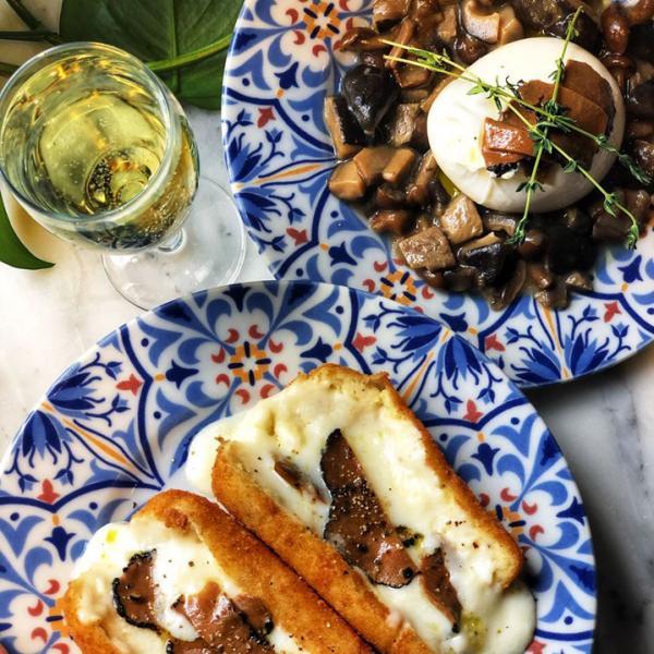 Rossopomodoro truffle menu items