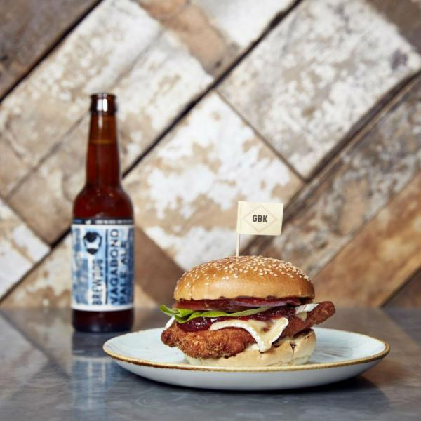 Gourmet Burger Kitchen is always a winner for the perfect burgers in Southside Wandsworth London