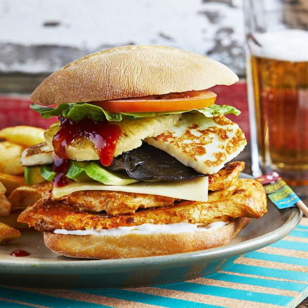 Nando's is always a winner for burger options in Southside London