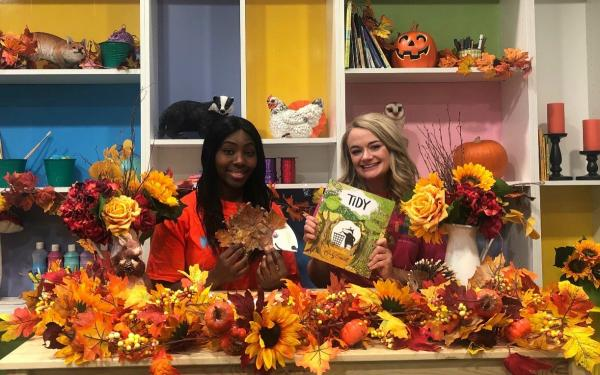 Wincey and Lillie have been inspired by autumn!